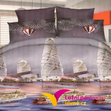 3D povlečení - SEA 3-dílné