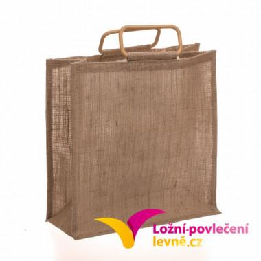 Ekologická jutová taška s držadly