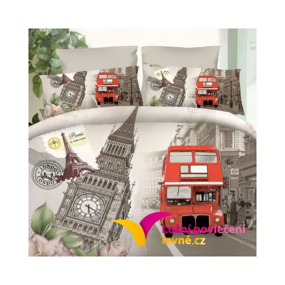 3D povlečení - RED CAR 3-dílné