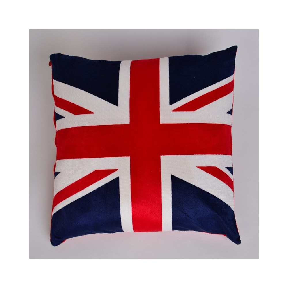 Mikroplyšový povlak na polštář 50x50cm - vlajka 1
