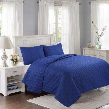 Přehoz na postel 200x240 - NAVY BLUE