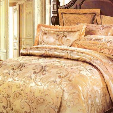 Královské saténové povlečení golden night - Agáta 3