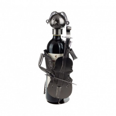 Stojan na víno houslista