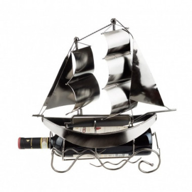 Stojan na víno loď