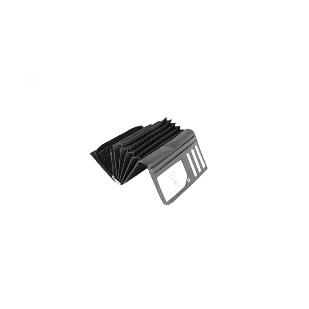 Dámská peněženka COLLECTION J LEATHER - černá