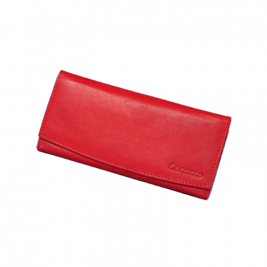 Dámská kožená peněženka Loranzo - červená
