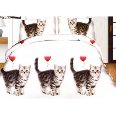 3D povlečení- Koťata 3D-MIKR-KOT