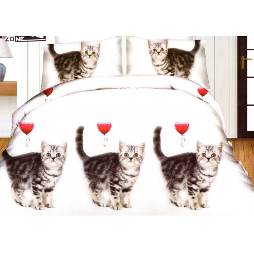 3D povlečení- Koťata