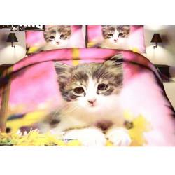 4-Dílné Francouzské Povlečení kočka - Olga 6