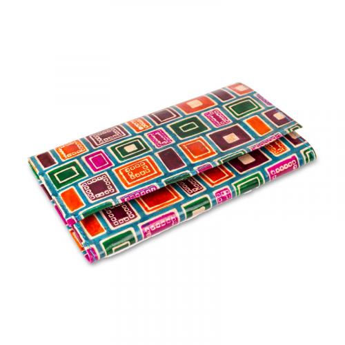 Dámská kožená peněženka - Etiopie