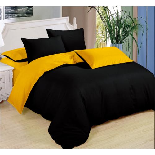 2dilně - povlečení yellow n black - KEVIN 1