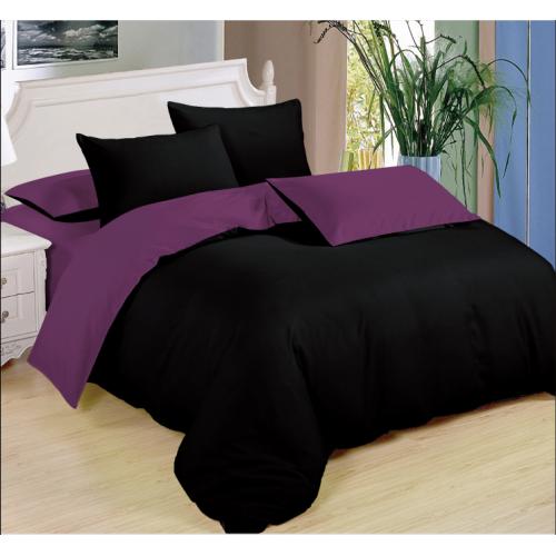 2dilně - povlečení purple n black - KEVIN 3