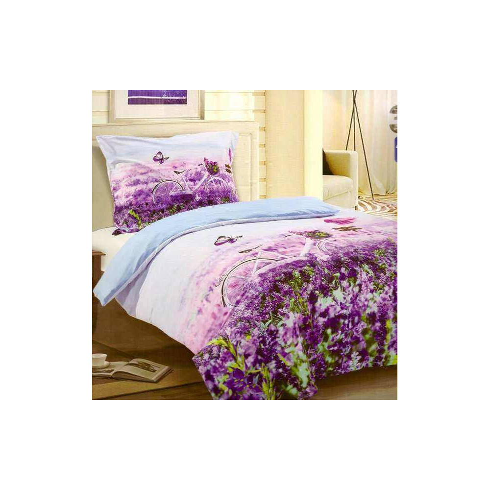 3D povlečení -Lavender Garden