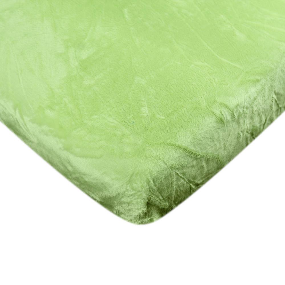 Mikroflanelové prostěradlo - Zelené