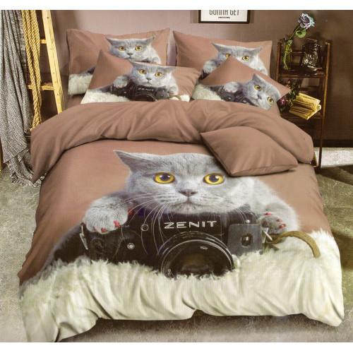 3D povlečení - Kočka - Žofie 4
