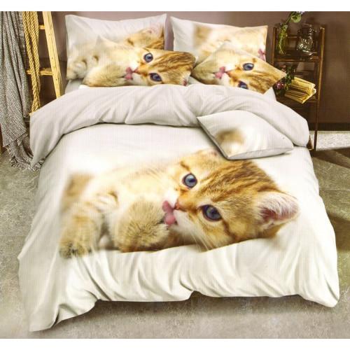 3D povlečení - Kočka - Žofie 5
