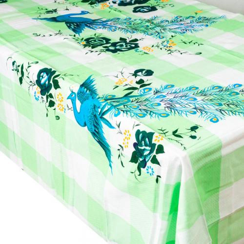 Univerzální textil - ubrus/prostěradlo - zelené