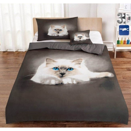 3D povlečení - Kočka - Žofie 11