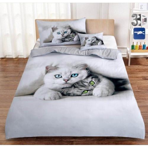 3D povlečení - Kočky - Žofie 12