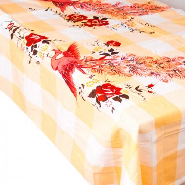 Univerzální textil - ubrus/prostěradlo - oranžové