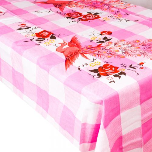 Univerzální textil - ubrus/prostěradlo - růžová