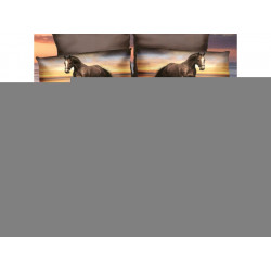7-dílné 3D povlečení na dvoulůžko - BEDA 6