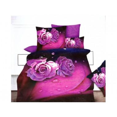 3D povlečení -purpal rose DARINA 8