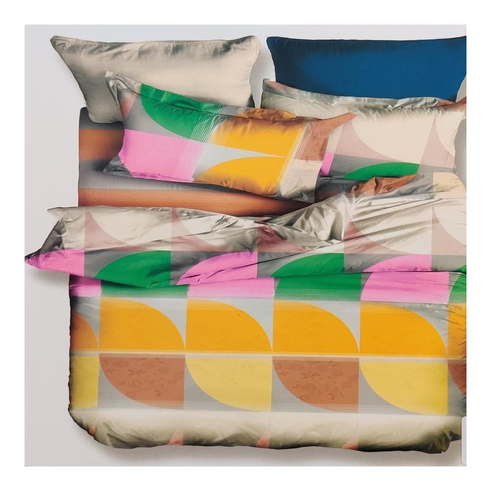2-dílné oboustranné povlečení - DecoKing - barevné tvary I
