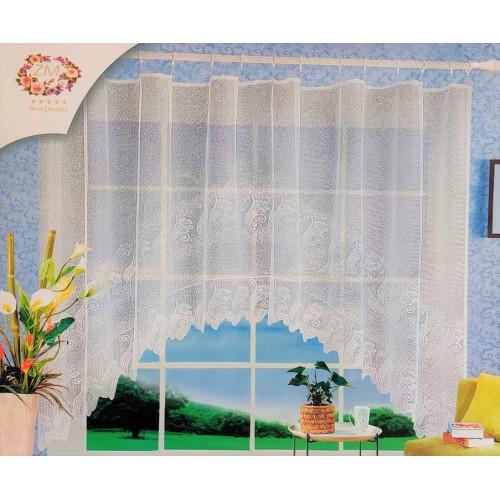 Oblouková záclona 165x320 cm - D1