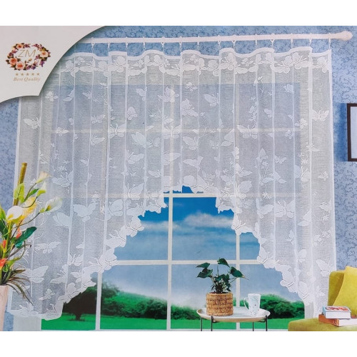 Oblouková záclona 165x320 cm - D6