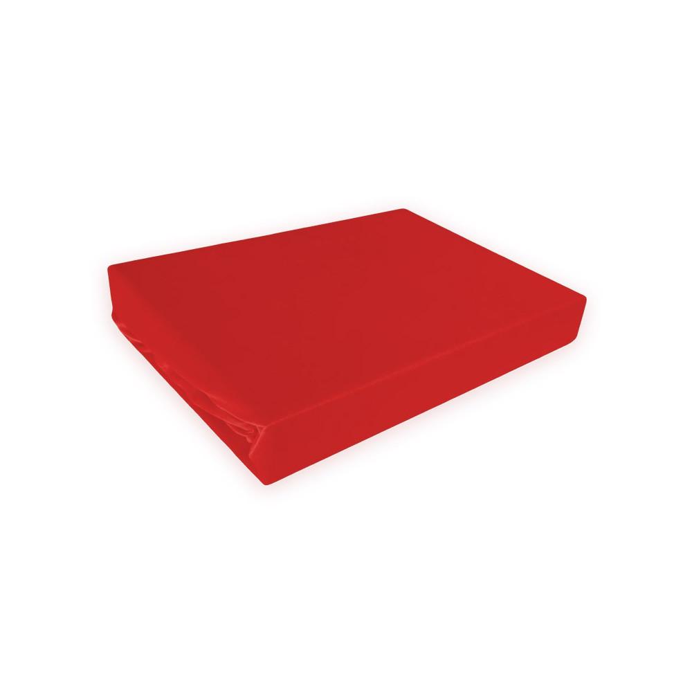 Napínací prostěradlo MICRO satén - červené