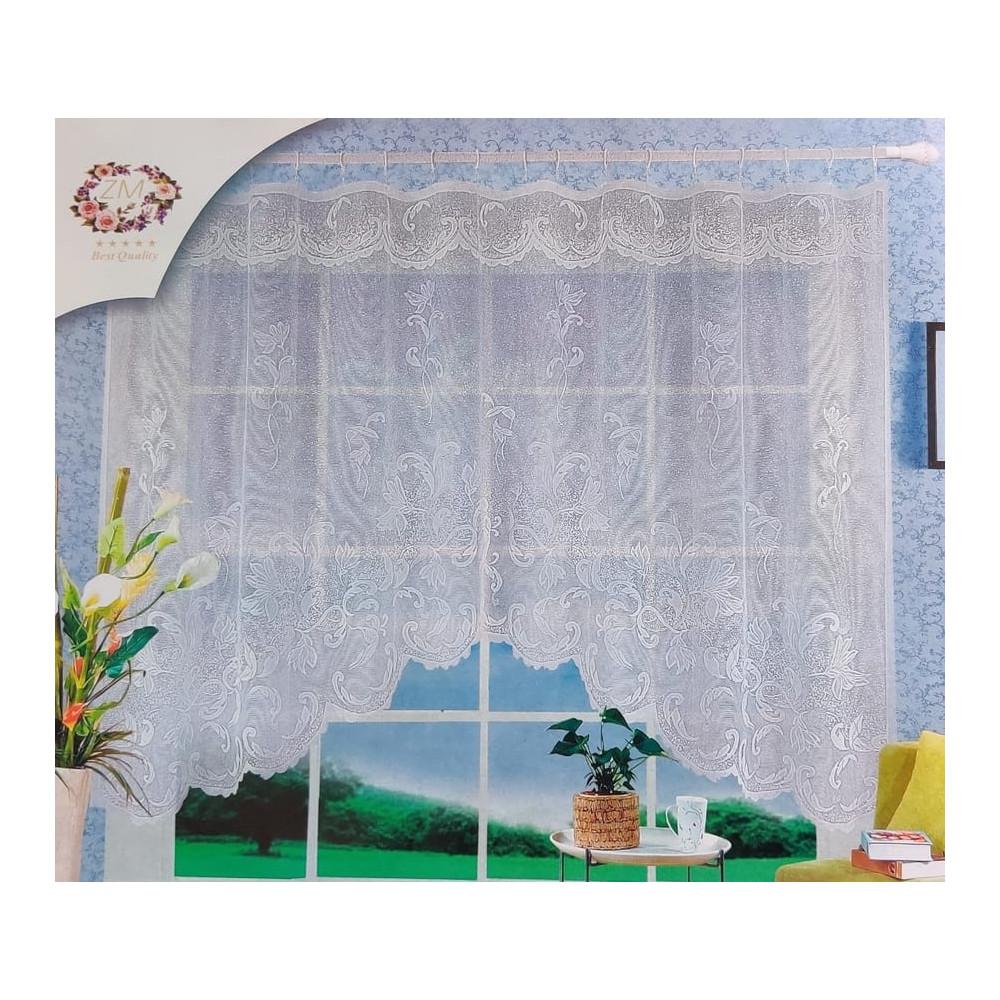 Oblouková záclona 165x320 cm - D3