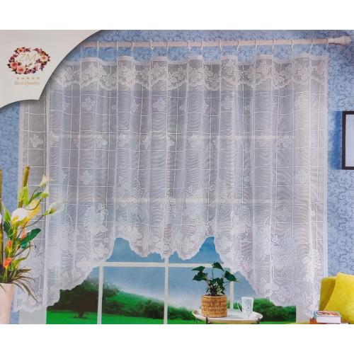 Oblouková záclona 165x320 cm - D2