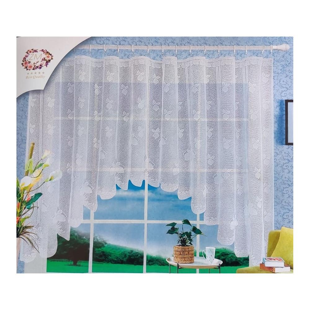 Oblouková záclona 165x320 cm - D4