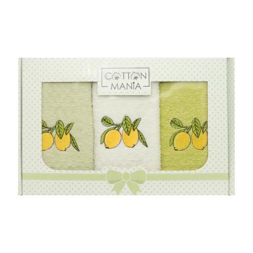 Set kuchyňských ručníků - Citron 40x60 cm