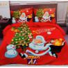 3D povlečení - Vánoční - Santa a darky 3