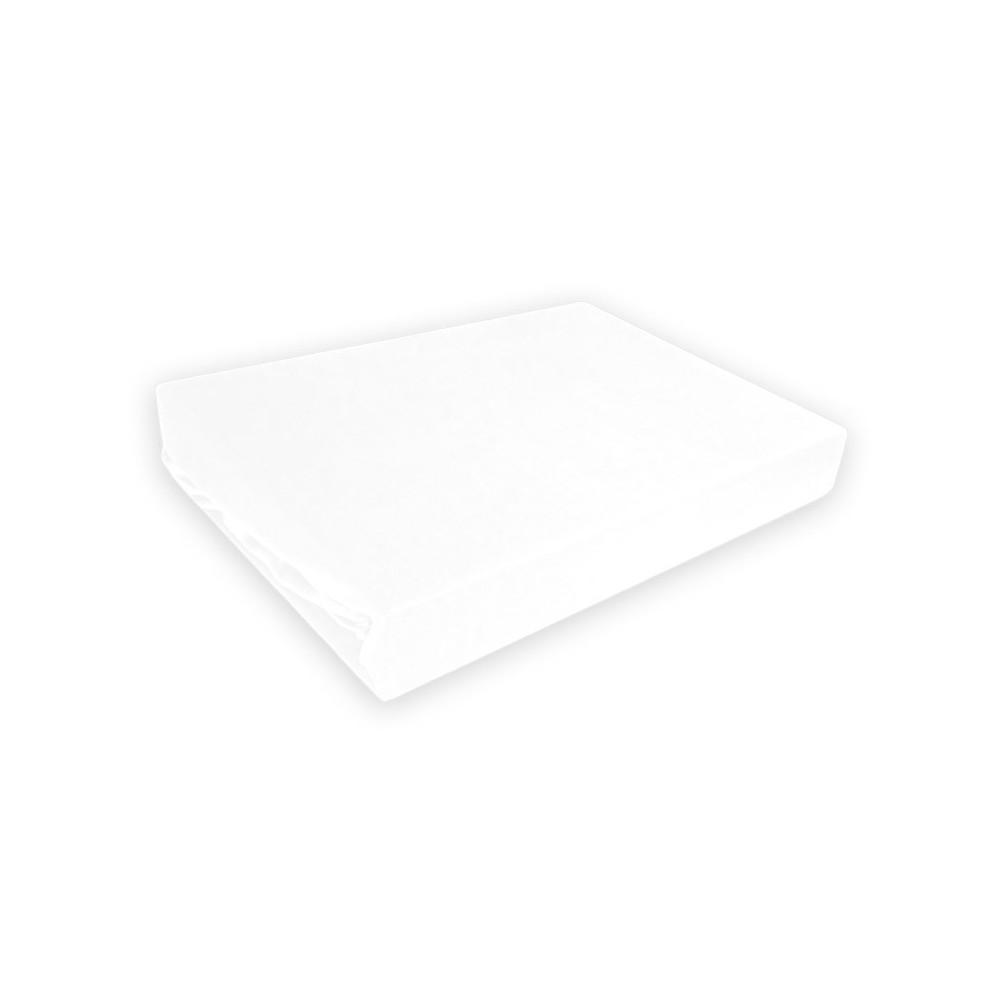 Napínací prostěradlo MICRO satén - bílé