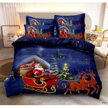 3D povlečení - Santa na...