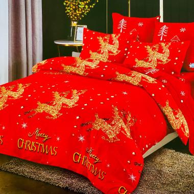 7dílné vánoční povlečení -...